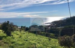 iv941 Land for sale in Bordighera, Montenero area, with a beautiful sea view. 0