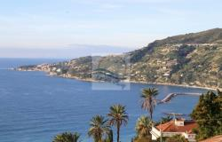 iv1038 Land with sea view and approved project for sale in Ospedaletti. 0