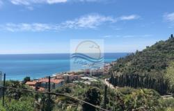 iv1071 Land with sea view for sale in Bordighera. 0