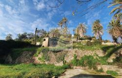 iv1101 Land with approved project for sale in Bordighera. 1