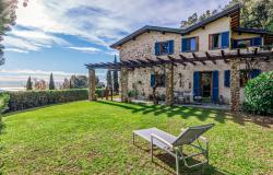 Charming stone villa with sea view for sale on the hills of Pietrasanta, Tuscany 0