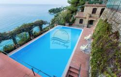 IV1103 Villa with swimming pool and sea view for sale in Bordighera. 19