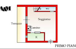 APARTMENT ON TWO LEVELS IN SCALEA BEACH 18