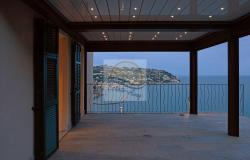A1114 Villa with sea view for sale in Bordighera. 2