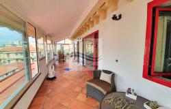 A1113 Penthouse with solarium and sea view for sale in Bordighera. 2