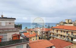 A1113 Penthouse with solarium and sea view for sale in Bordighera. 3