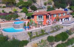 A1116  Tuscany style villa for sale in Bordighera. 0