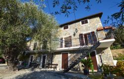 A1123 House with sea view for sale in Bordighera-Sasso. 0