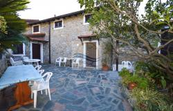 A1123 House with sea view for sale in Bordighera-Sasso. 2