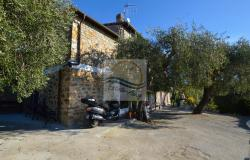 A1123 House with sea view for sale in Bordighera-Sasso. 3