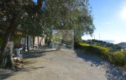 A1123 House with sea view for sale in Bordighera-Sasso. 7