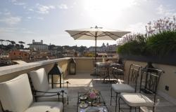 Penthouse in the historical center of Rome 7