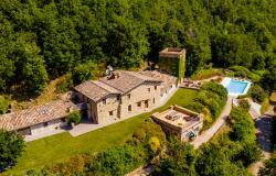 Historic Property With Watchtower and Superb Views Near Camerino, Le Marche 0