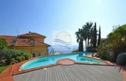 iv1049 Apartment with pool and sea view for sale in Ospedaletti. 0