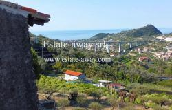 A1111 Rustic with sea view for sale in Bordighera  3