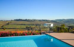 Farmhouse With Dependance and Pool Surrounded by Vineyards 8