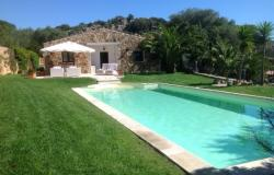 Sardinia near Porto Cervo , exclusive Villa with swimming pool.