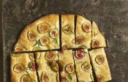 Fig and Honey Focaccia