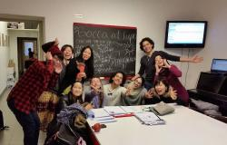 Intensive Italian course: the students group