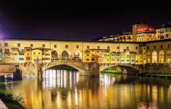 Ponte Vecchio, Florence. Near our Italian language school