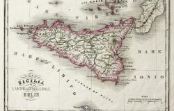 Sicily old map