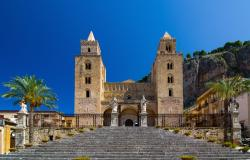 The Cathedral in Cefalù Sicily