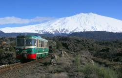 Etna wine train