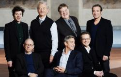 Monuments Men Cast Poses in Front of Leonardo's Last Supper in Milan