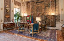 The President's Room inside the Quirinale