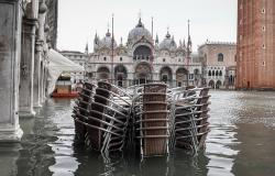 Venice flooded in November 2019