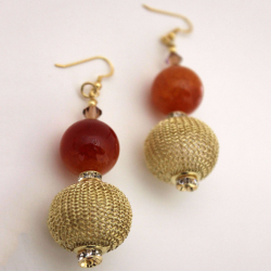 Merengue earrings 1