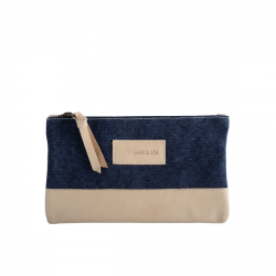 Harbor Clutch Bag Navy 1
