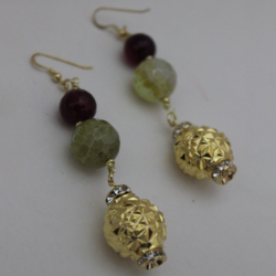 Earrings 'Dubai' 1