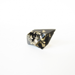 Black and gold Geo dark ring 1