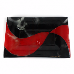 Tray black and red 1
