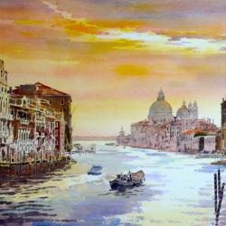 Grand Canal, Morning Light, Venice