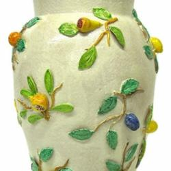 Bonechi Imports Tuscan ND Dolfi Tall Vase With Fruit 1