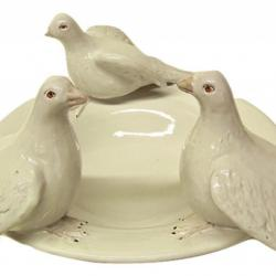 Bonechi Imports Tuscan ND Dolfi Large Bowl with Doves 1