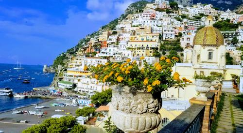 A View of Positano from our Boutique Hotel