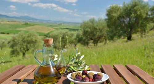 olive oil in Tuscany