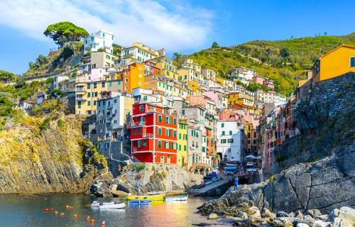 The village of Riomaggiore in Italy's Cinque Terre