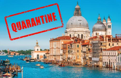quarantine in venice