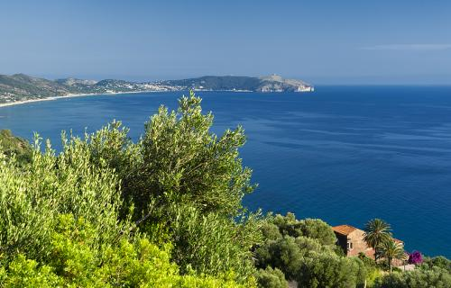 The coast near Pisciotta in Cilento