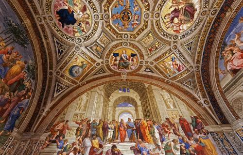 Raphael Rooms Vatican Museums in Rome