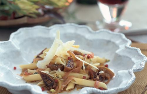 Fig and Prosciutto Penne - photo courtesy of Francine Segan