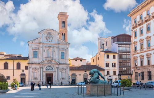 Ognissanti or Church of All Saints is a Franciscan church located on the piazza of the same name in central Florence