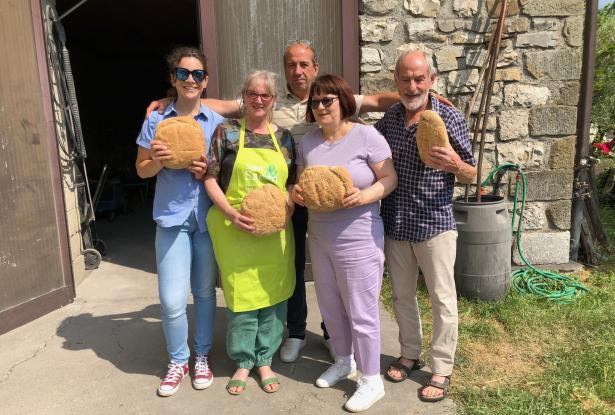 Sapori & Saperi Adventures – We made bread with Paolo!