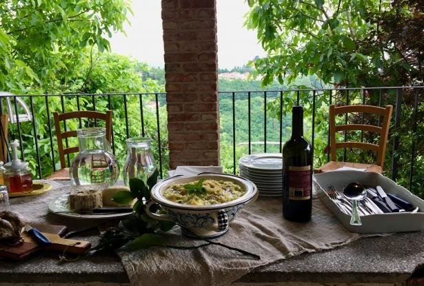 Sapori & Saperi Adventures – Lunch at Francesca's, Tuscany