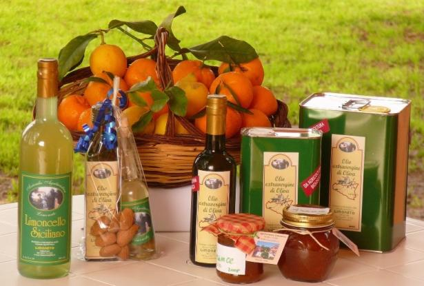 products on sale at Limoneto Siracusa