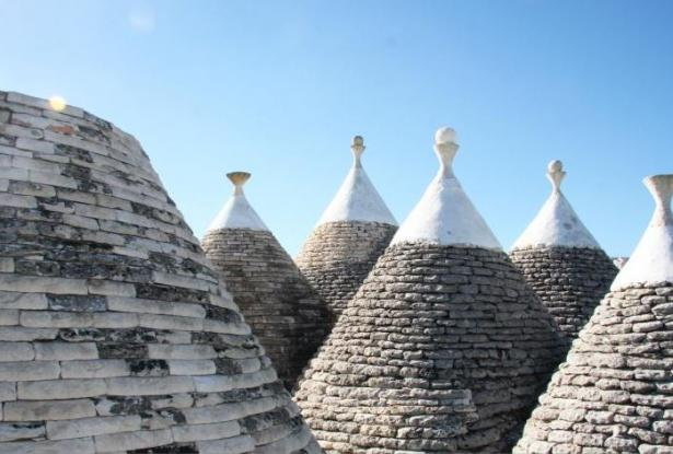 Trulli Mater Domini built 200 years ago